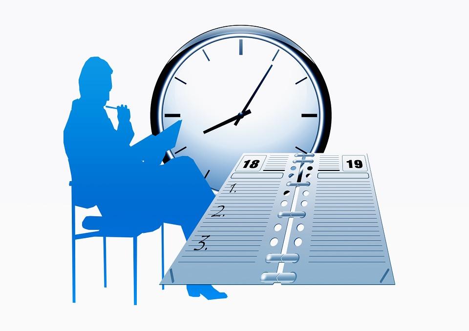 control del horario de trabajo